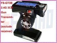 F01815 Flysky FS GT3B 2.4G 3CH Controller Zender Geen/met ontvanger, voor RC Auto Boot