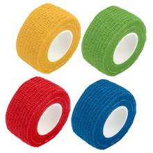 1 pc Self-Adhering Bandage Wraps Elastic Adhesive First Aid Tape Stretch 2.5cm(China)