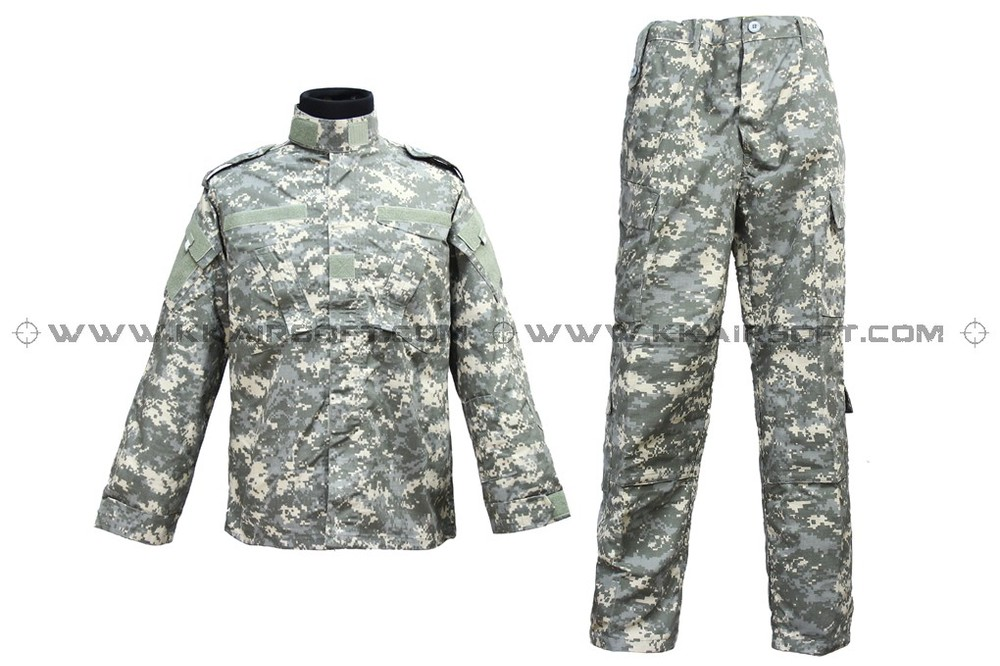 Us Army Military Uniform For Men ACU Pattern BDU Uniform [CL-02-ACU]