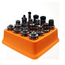 1PCS bt40 bt30 BT30 BT40 BT50 box storage case plastic box Collecting Box for CNC tool holders collecting tool case