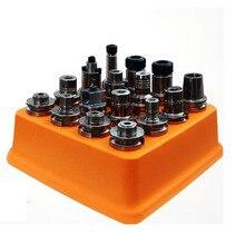 Boîte de collecte mallette de rangement en plastique pour porte outils CNC, boîte de collecte 1 pièce bt40 bt30 BT40 BT50, boîte de collecte