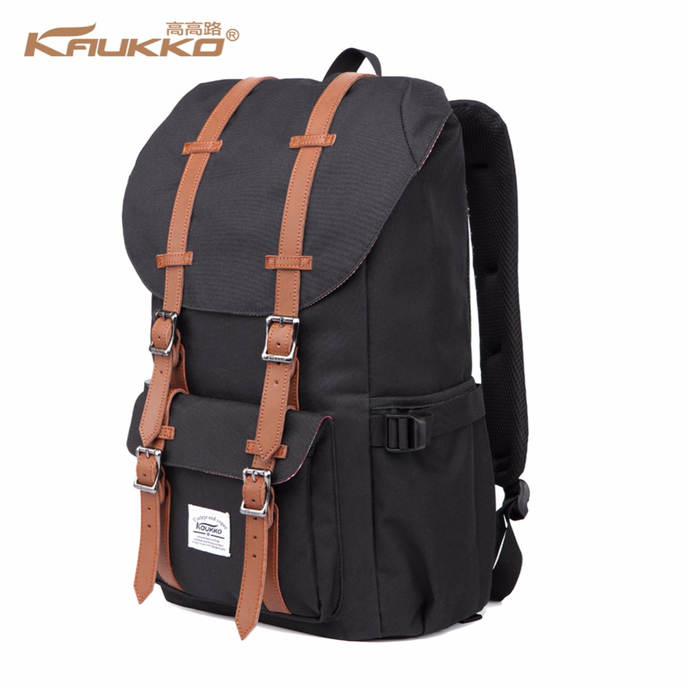 Backpack Women's Daypack Men's Schoolbag KAUKKO 17 inch Laptop Backpack for 15 Notebook Casual Daypacks Schoolbags цена
