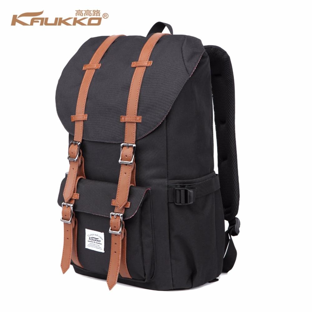 Backpack Women's Daypack Men's Schoolbag KAUKKO 17 Inch Laptop Backpack For 15