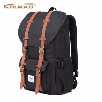 """Rucksack frauen Daypack männer Schul KAUKKO 17 zoll Laptop Rucksack für 15 """"Notebook Casual Daypacks Schultaschen"""