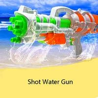 New Summer Drawing Shot  Water Gun Large Capacity Water Leakage Toys For Children Outdoor Toy Gun Plastic Toy Beach Fun