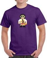 Daily T Shirt Crew Neck Men Short Premium 8 Bit Scary Movie Horror Film Cult Classic