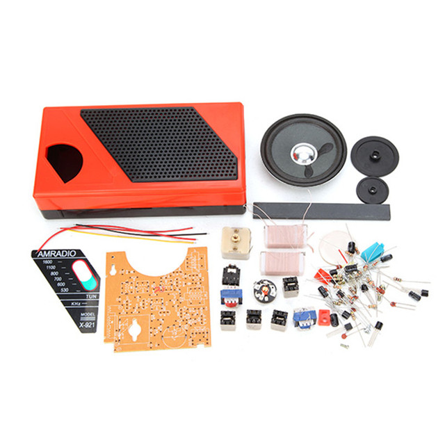 New Arrival DIY 8 Tube Radio Kit Electronic Spare Part Radio Accessorries 145 x 75 x 35mm