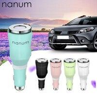 Nanum carro aroma difusor mini usb aromaterapia umidificador de ar do carro usb difusor de óleo essencial névoa criador fogger