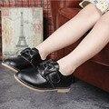 Children's shoes лук принцесса shoes Girls' leather shoes 100% натуральная кожа производства