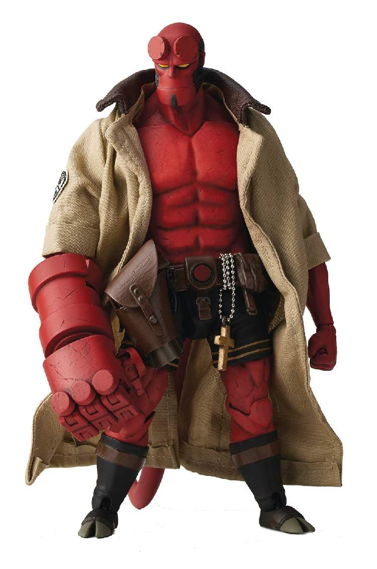 Hellboy Devil 100Toys 1 12 Scale BJD Joint Moveable with Real Cloth PVC Action Figure Model