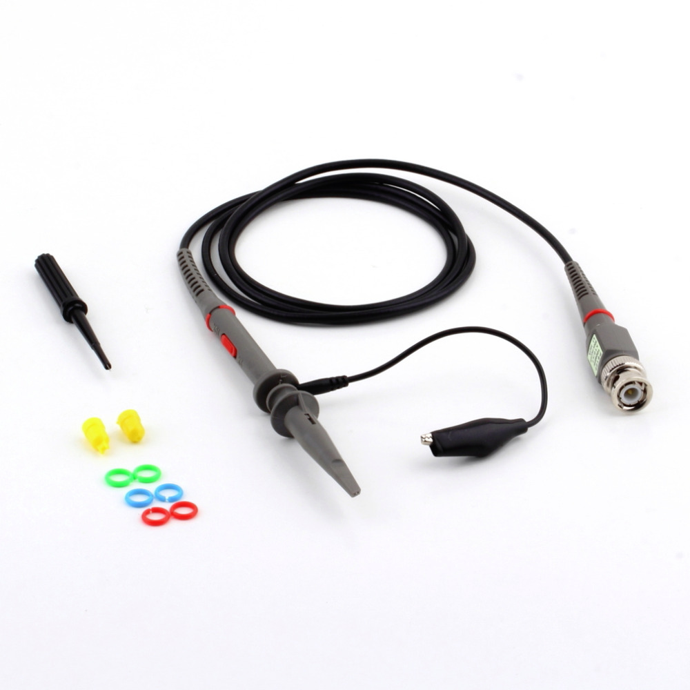 1Pc P6100 DC-100MHz Oscilloscope Scope Clip Probe 100MHz For Tektronix HP Brand New free shipping new for primedic dm10 membrane keypad primedic dm30 membrane keypad film