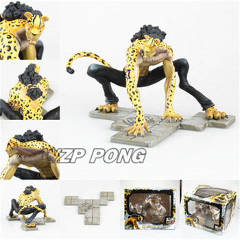 New Anime One Piece Rob Lucci Model Toy 1/8 PVC Lucci Leopard form Action figure brinquedos Collection kids Toys Gift 25cm