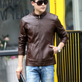 Leather Coat For Men Suede jacket Winter Autumn Leather clothes Fashion Slim Fit Outerwear PY8833