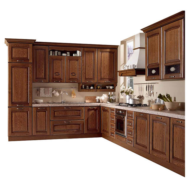 US $1399.0 |wholesale sri lanka L shape readymade kitchen cabinets with  sink-in Bedroom Sets from Furniture on AliExpress