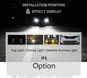 Image 3 - 1 個ビッグプロモーション H1 ハイパワー 13 SMD 5050 LED 電球ホワイト車の自動車ヘッドライトヘッドライトランプ DC 12V