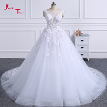 Jark Tozr 100% Real Picture Bridal Gowns Wedding Dresses