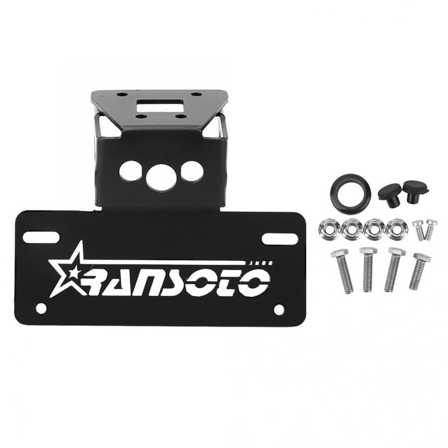 Motorcycle License Plate Holder Bracket Frame Fit for Kawasaki Ninja 400 Z400 2018 2019 Motorcycle modification accessories
