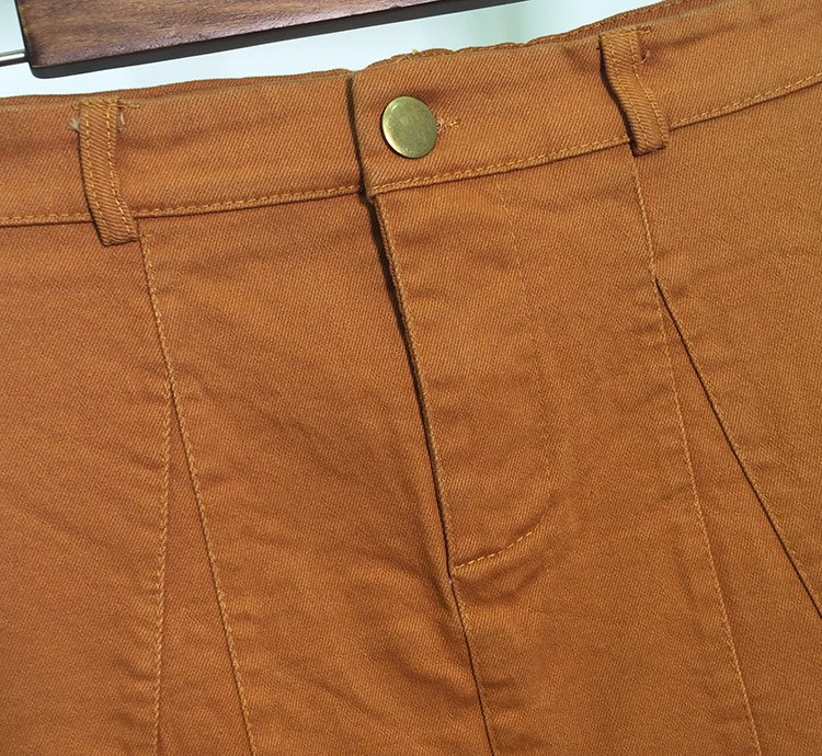HTB1mSNOOVXXXXcyXFXXq6xXFXXXo - American Apparel button Denim Skirt JKP265