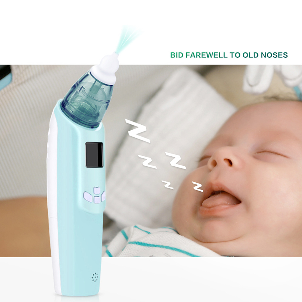 Baby Nasal Aspirator Electric Nose Cleaner Sniffling Equipment Safe Hygienic Nose Snot Cleaner For Newborn Infant Toddler girl