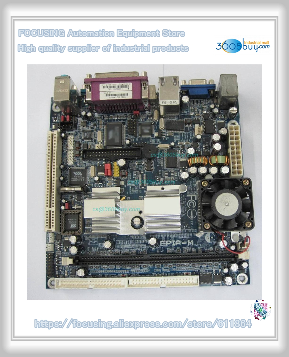 High quality EPIA-M10000G Embedded Mini-ITX Mainboard control mini 17*17CM board 90 days warrantry epia ml8000ag epia ml embedded industrial motherboard 100% tested perfect quality