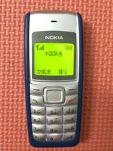 Wholesale 1110 Original Unlocked Nokia 1110 Mobile phone Dual band Classic GSM Refurbished Cell phone 1 year warranty