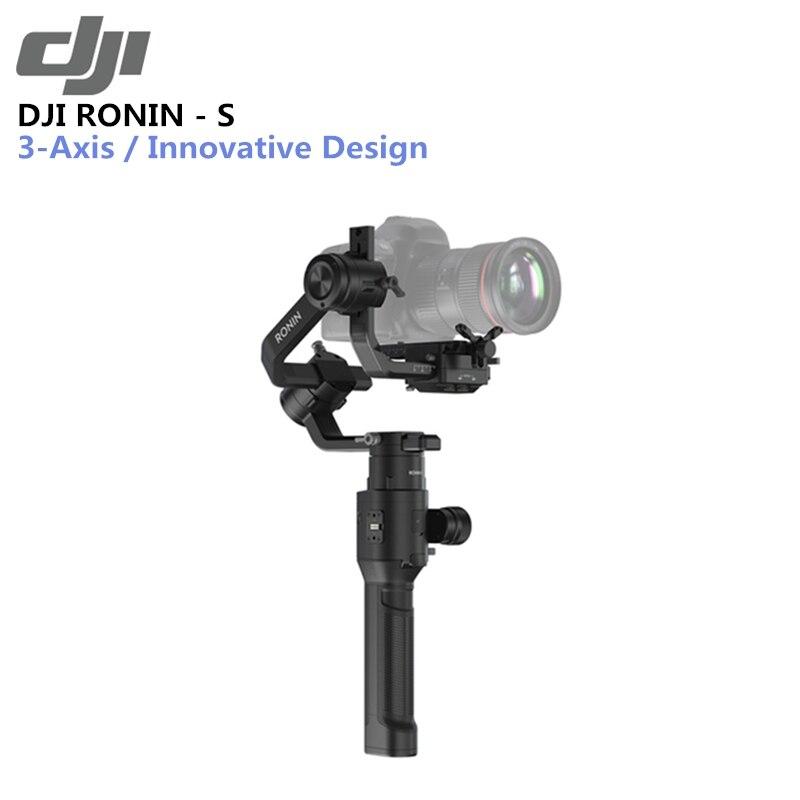 D'origine DJI Ronin-S Supérieure 3-Axe Stabilisation 3.6 kg Testé Charge Utile Capacité Max Batterie Vie 12hrs Automatisé smart Caractéristiques