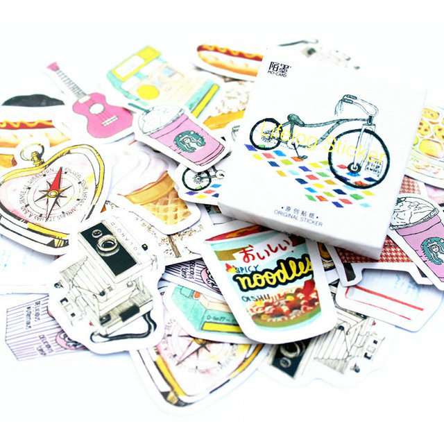 Kawaii Series Memo Pad Stickers
