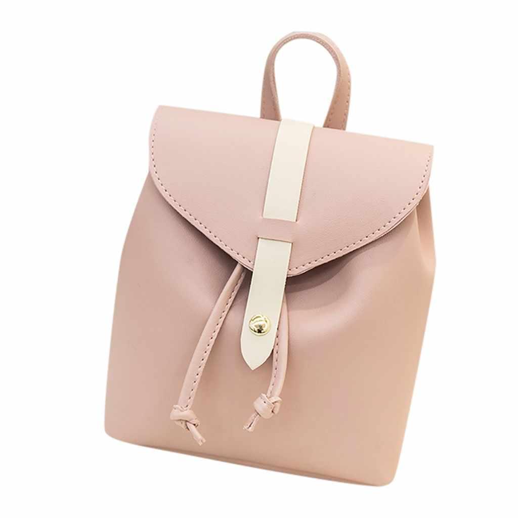 Moda Feminina Mochila Ombros Pequeno Mini Mochila Carta Bolsa saco Do Telefone Móvel Sacos De Escola para Adolescentes Viajar Bagpack #5 $