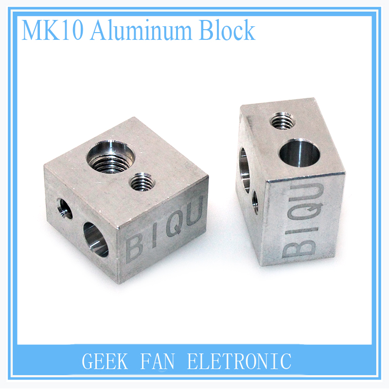 Bloque de Calentamiento para MK10 Makerbot 3D Impresora Extrusora de aluminio 3D