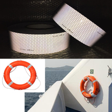 Self-adhesive Solas Grade Marine Reflective Tape for Life-Saving Products sewing on clothes