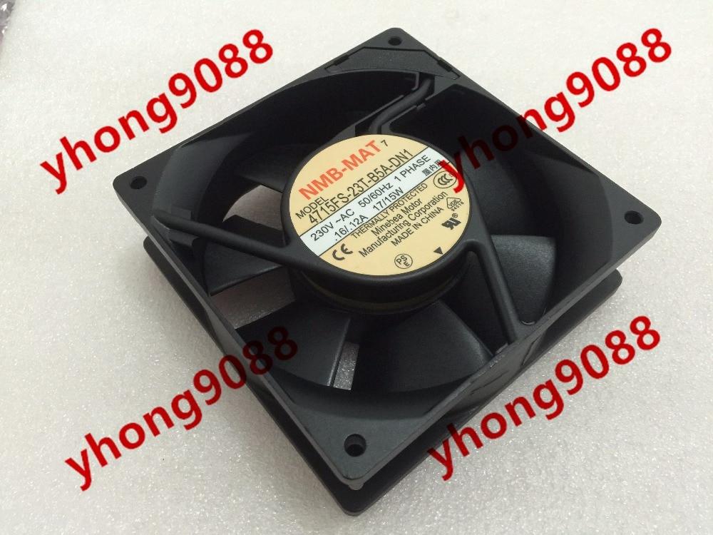 NMB-MAT 4715FS-23T-B5A-DN1 AC 230V 17W , 120x120x38mm Server Square fan ebmpapst a6e450 ap02 01 ac 230v 0 79a 0 96a 160w 220w 450x450mm server round fan outer rotor fan