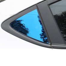 Lsrtw2017 Stainless Steel Car Window Rear Triangle Panel Trims for Chevrolet Cavalier 2017 2018 2019 2020