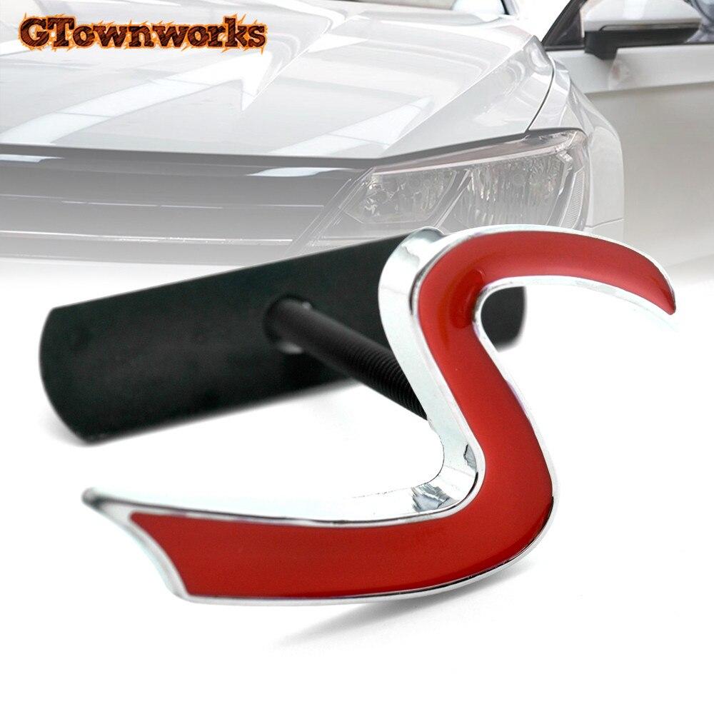 3D Metal S Chrome Emblème Autocollant Pour Mini Cooper R50 R52 R53 R56 R57 R58 R60