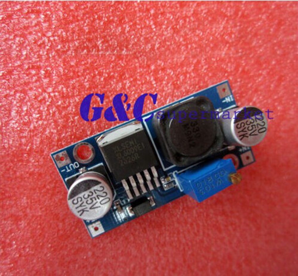 5pcs Dc-dc Adjuable Ep-up Power Cverter Module Xl6009 Replace Lm2577 Integrated Circuits