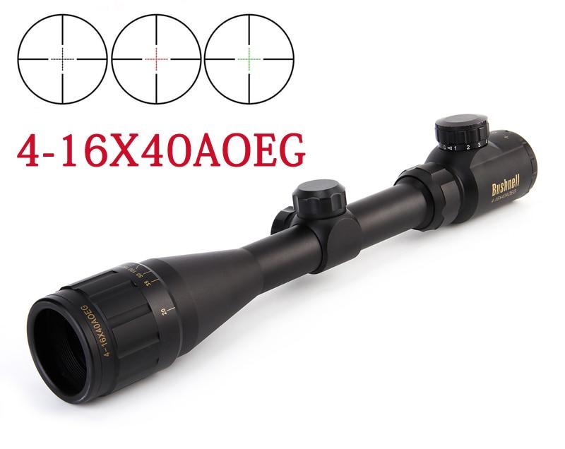 ФОТО Hunting 4-16x40 Scope Red Green Dot Sight Scope Illuminated Telescopic Scope Tactical hunting sight sight free shipping