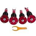 Амортизаторы подвески 24 пути Adj. Демпфер Coilover комплект для Lexus sc300 sc400 91-00 койловеров катушки стойки