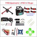 F450 Quadcopter Rack Kit Frame APM2.6 and 7M GPS 2212 920KV simonk 30A 9443 props