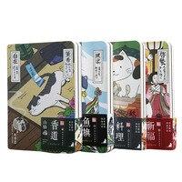 Милый креативный японский блокнот с кошкой, ежедневник