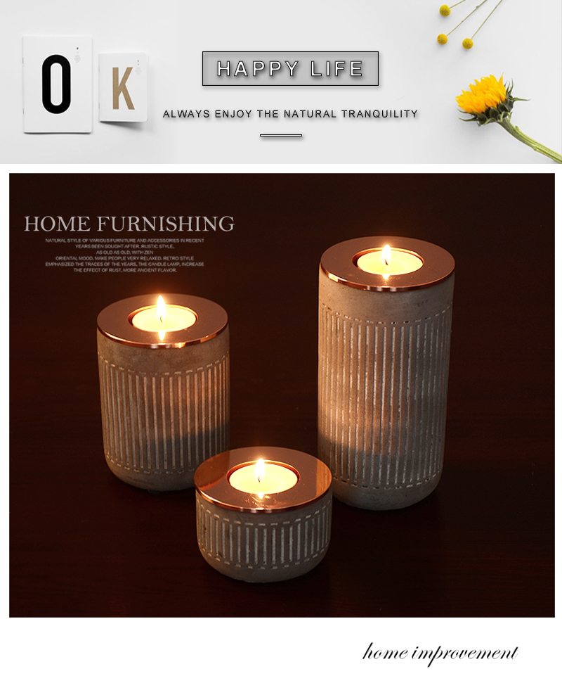 gold decor home romantic metal lantern yankee candle (2)
