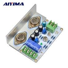 Aiyima 1 pcs 1969 클래스 a 전력 증폭기 보드 10 15 w hifi 오디오 amplificador mot/2n3055 pcb 조립 보드 및 diy 키트
