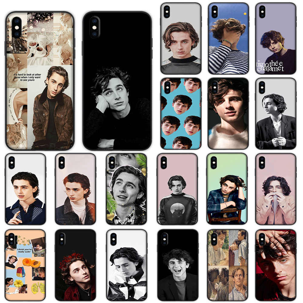 Timothee Chalamet สำหรับ iPhone XS 11 Pro Max XR X 7 8 6 6S Plus