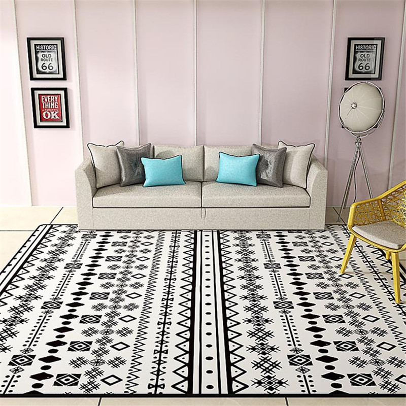 Bohemia Ethnic Style Home Carpets For Living Room Bedroom Kid Room Rugs And Carpet Floor Door Mat Simple Nordic Area Rug Mat|Carpet| |  - title=