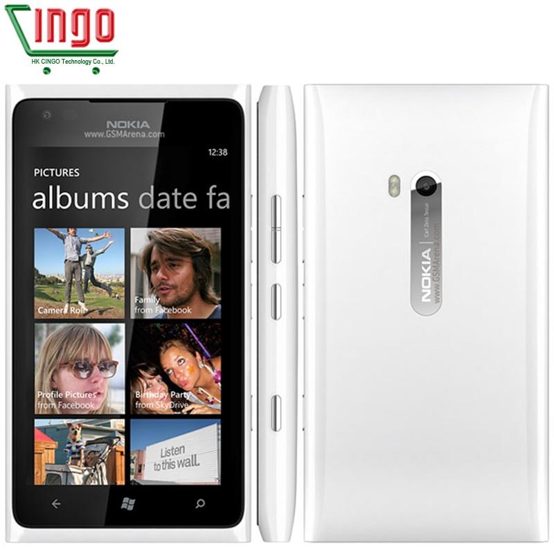 Nokia Lumia 900 Unlocked 100% Original Mobile Phone 3G GSM WIFI GPS 8MP 16GB memory Windows os Refurbished 1 year warranty