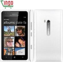 Nokia Lumia 900 Entsperrt 100% Original Handy 3G GSM WIFI GPS 8MP 16 GB speicher windows-betriebssystem Refurbished 1 jahr garantie