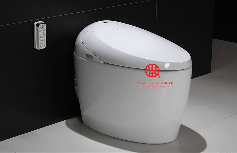 220V Smart Commode Intelligent Toilet S-Trap New Design Tankless Electric Bidet Intelligent Toilet