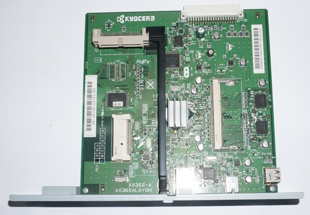 ФОТО Used Well Kyocera 302HM01030 P.W.BOARD ASSY MAIN WITH SOFTWARE for:FS-C5200DN