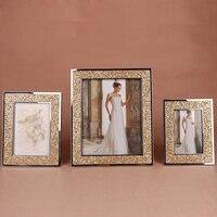 Nowoczesne, Minimalistyczne Ślub Zdjęcia Tabeli 6 Cal 7 10 Cal Ramka na zdjęcia Para Rodzina Zdjęcia Portret Mody Prezent Ślubny