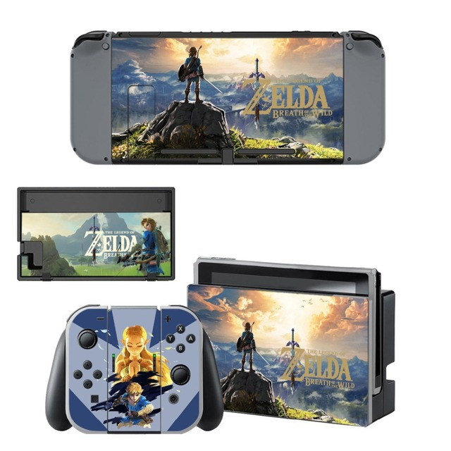 Nintendoswitch Skin The Legend of Zelda Nintend Switch Stickers Decal for Nintendo Switch Console Joy-con Controller Dock