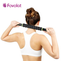 Pro Useful Sports Gym Massager Yoga Roller Stick Trigger Point Body Muscle Massage Relax Rods Crossfit