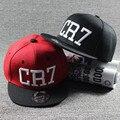 2016 детей звезды роналду CR7 вышивка дети бейсболка шлема кости мальчики девочки спортивная Snapback хип-хоп шапки Gorras